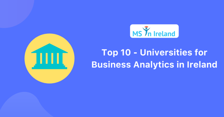 Top 10 Universities for Business Analytics in Ireland