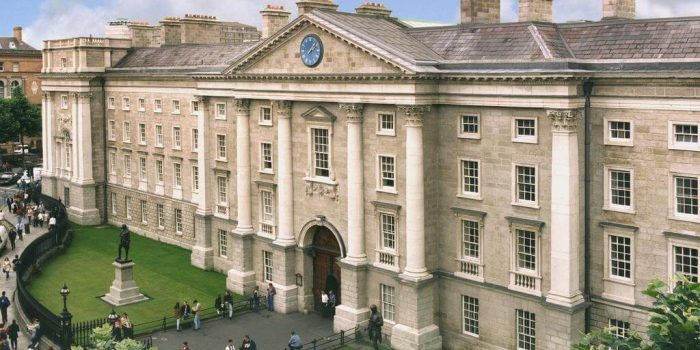 Studying in Ireland: Trinity College, Dublin